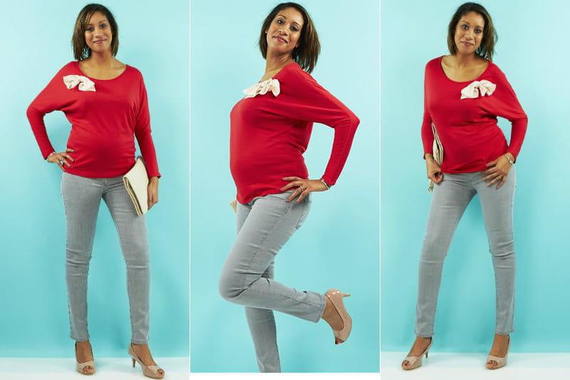 une tenue chic et urbaine le relooking femme enceinte de. Black Bedroom Furniture Sets. Home Design Ideas