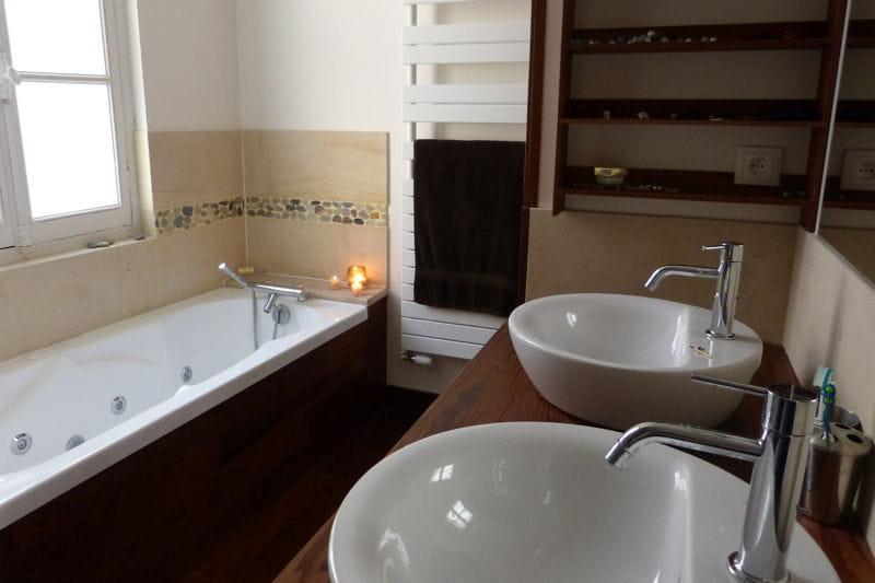 La salle de bains dressing visitez la maison de for Salle de bain dressing