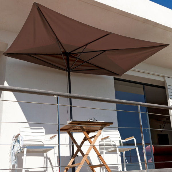 Parasol de balcon leroy merlin for Table de balcon ikea