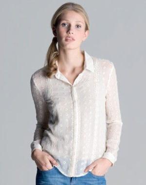 chemise ivoire de sud express