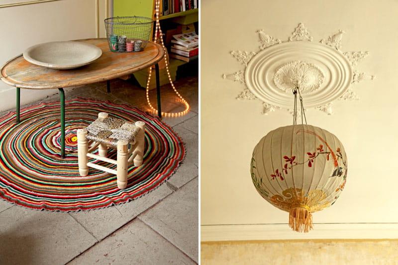 table basse et suspension en rondeurs d co color e et. Black Bedroom Furniture Sets. Home Design Ideas