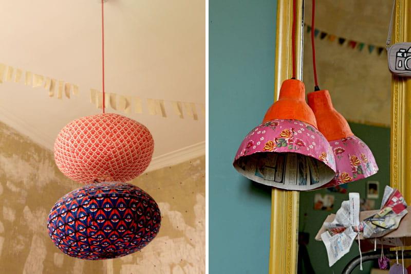 Luminaire Multi Suspension Colore Enfant : Côté luminaires déco colorée et fantaisie dans un