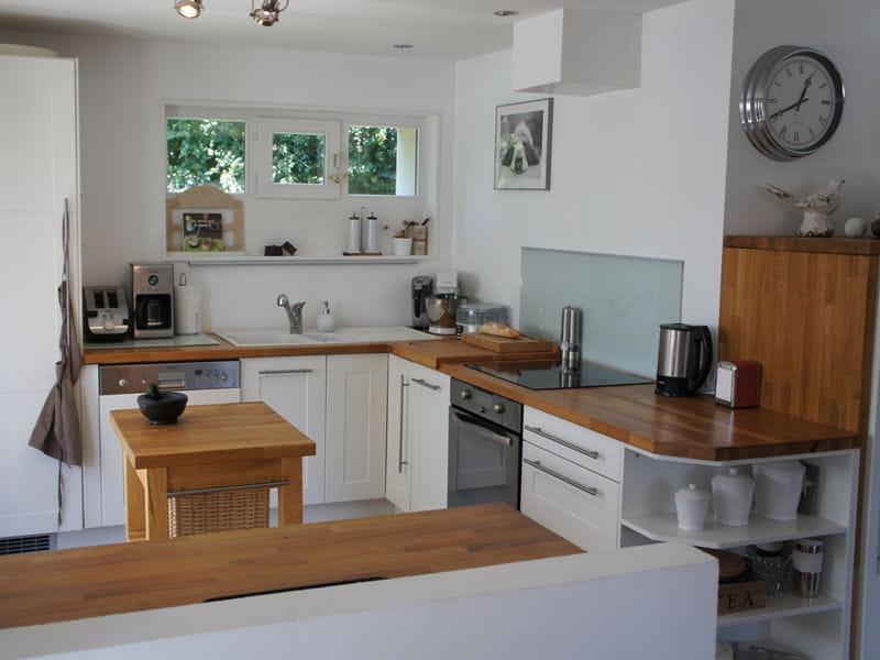 Cuisine ikea en angle les cuisines ikea en situation journal des femmes - Cuisine ikea blanche et bois ...