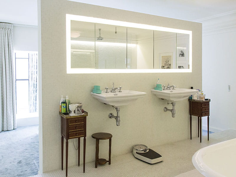 Petite salle de bain ouverte sur chambre salle de bains - Chambre avec salle d eau ouverte ...
