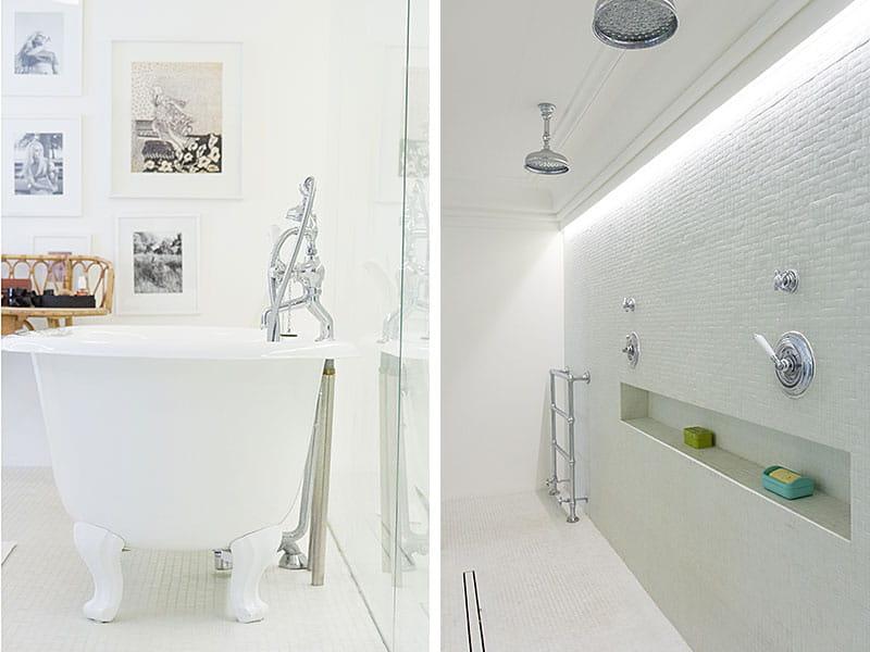 Une grande douche l 39 italienne un duplex l 39 esprit loft et la d co d complex e journal for Petite douche a l italienne