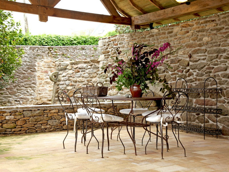 Terrasse romantique terrasse 70 photos pour vous - Fotos de patios rusticos ...
