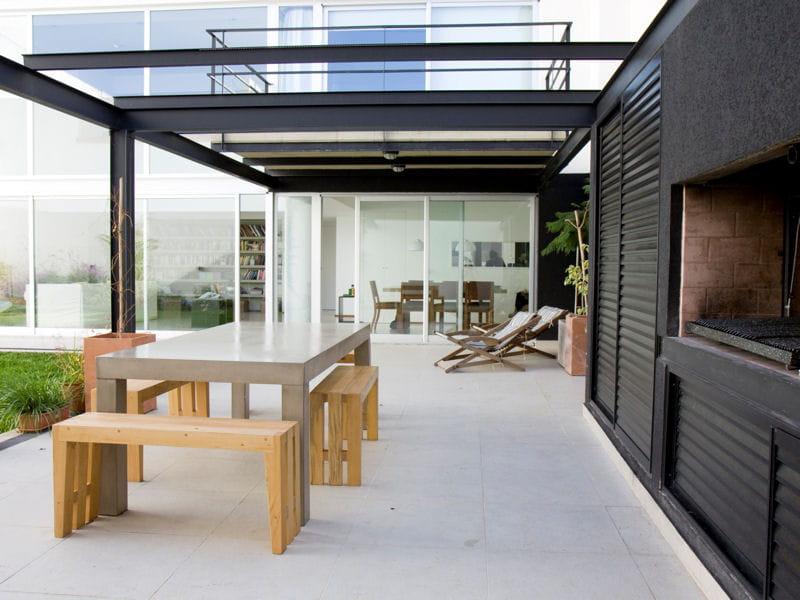 Pergola moderne terrasse 70 photos pour vous inspirer - Photo de terrasse moderne ...