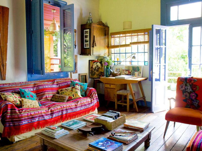 arc en ciel toujours plus d 39 id es pour d corer mon salon journal des femmes d coration. Black Bedroom Furniture Sets. Home Design Ideas