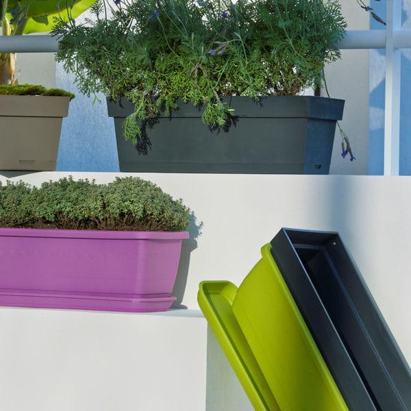 Jardini re toscane de leroy merlin jardini res et pots de fleurs color s - Leroy merlin jardiniere ...