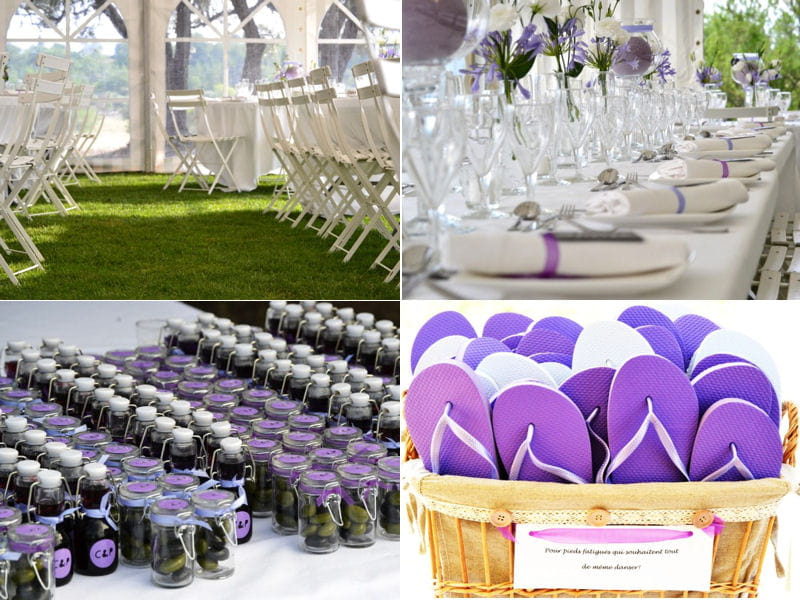 Olive oil wedding favors tables sets greek wedding - Deco table mariage boheme ...