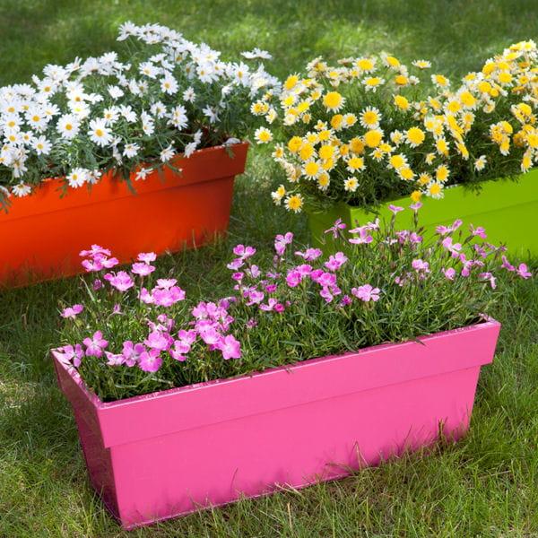Jardini re de truffaut jardini res et pots de fleurs color s journal des femmes - Truffaut jardiniere ...