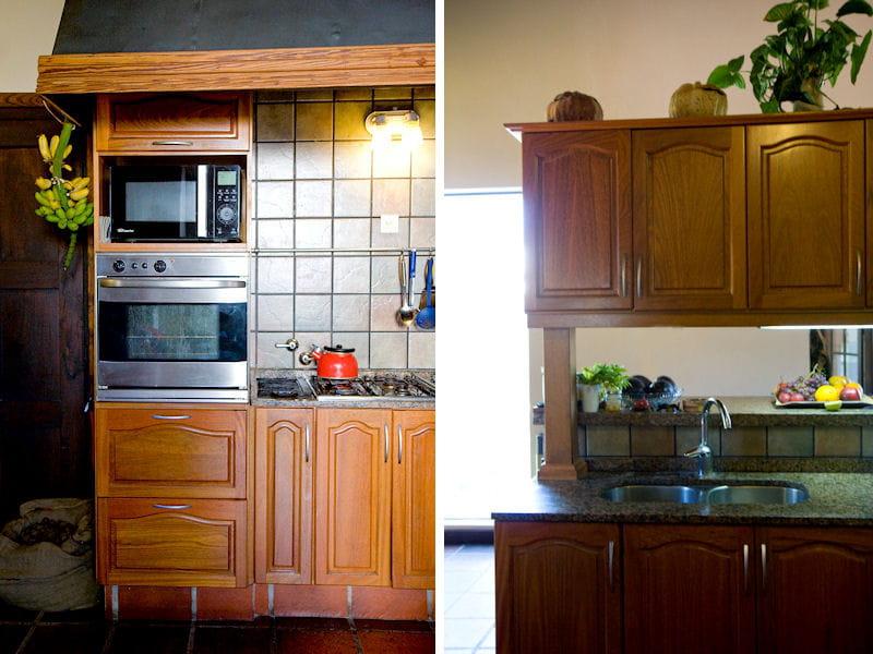 cuisine d 39 inspiration rustique une maison de campagne r nov e avec l gance journal des femmes. Black Bedroom Furniture Sets. Home Design Ideas