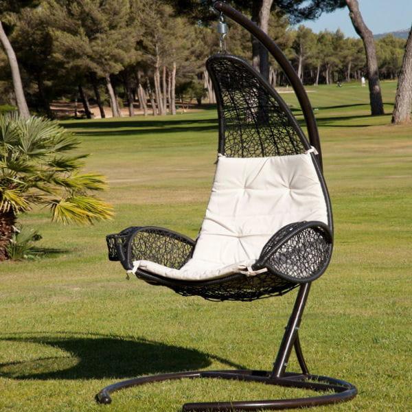 chaise suspendue rio de jardiland mobilier de jardin. Black Bedroom Furniture Sets. Home Design Ideas