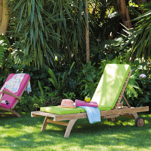 bain de soleil ol ron de maisons du monde mobilier de jardin pause d tente dans un transat. Black Bedroom Furniture Sets. Home Design Ideas