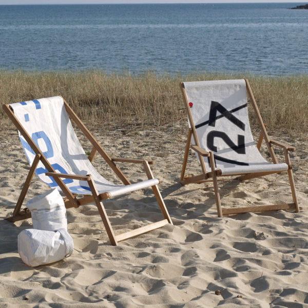 Transat de 727 sailbags mobilier de jardin pause for Mobilier jardin transat