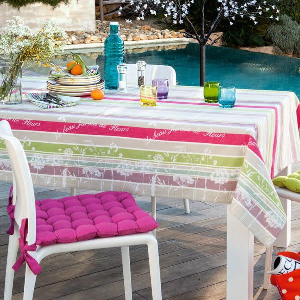linge de table saison des fleurs de becquet tables d co