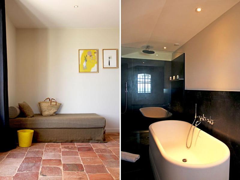 pierres noires et carrelage proven al. Black Bedroom Furniture Sets. Home Design Ideas