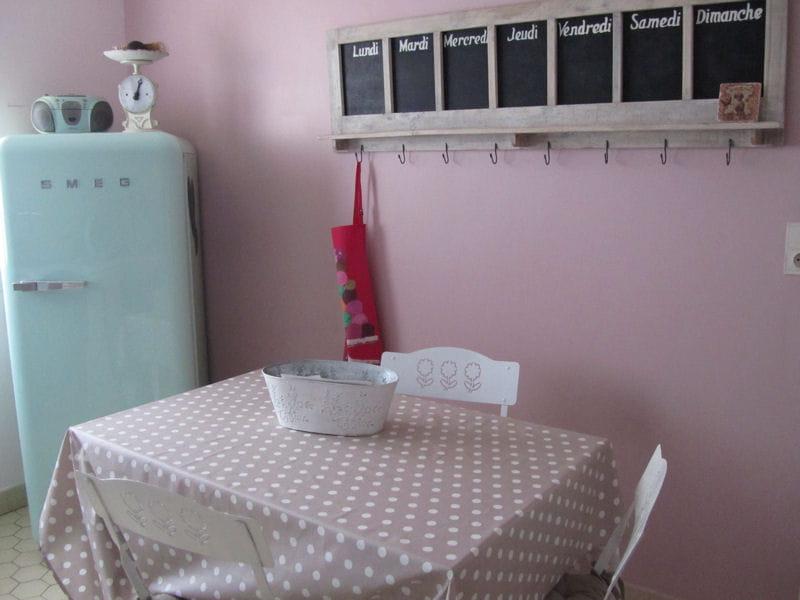 Cuisine girly et vintage la couleur pastel en d co for Deco cuisine girly