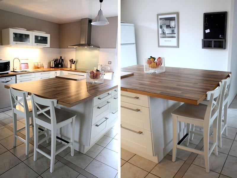 cuisine en bois clair cuisine les plus belles pi ces. Black Bedroom Furniture Sets. Home Design Ideas