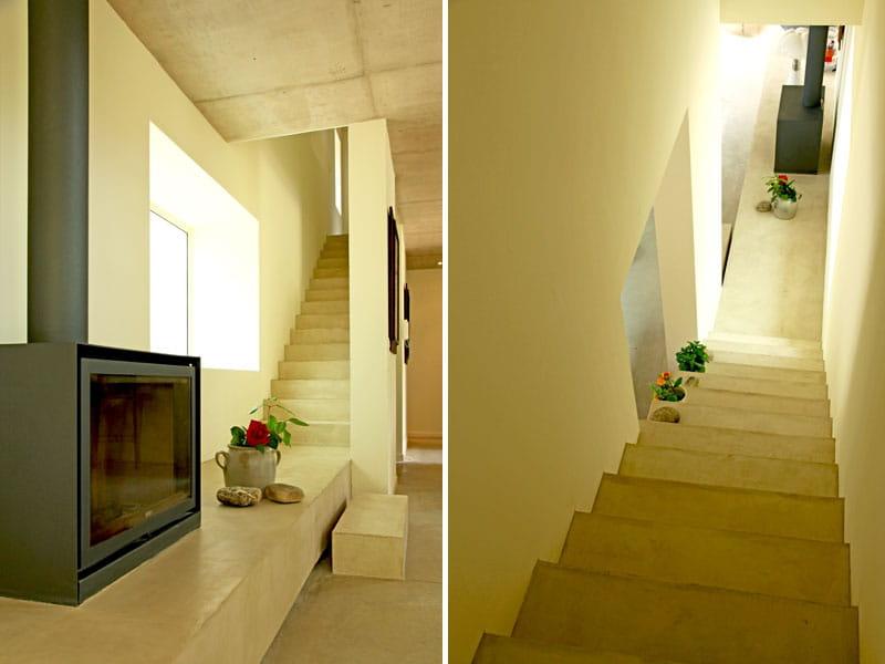 Jeux d 39 escaliers maison contemporaine en pleine nature journal des fe - Escalier maison contemporaine ...