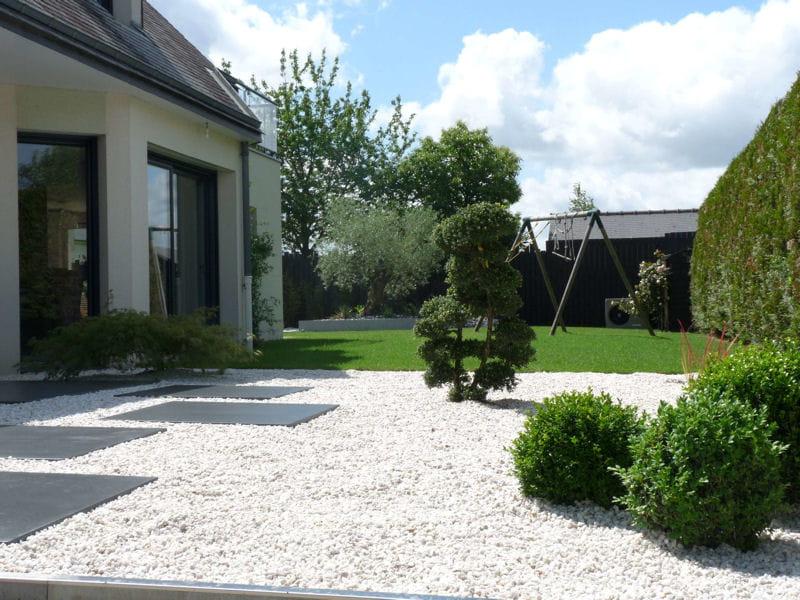 L 39 Entr E Du Jardin Apr S Avant Apr S Installation D