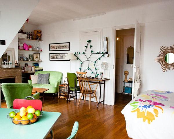 Une d co vintage 30 apparts petits mais bien agenc s journal des femmes - Deco appartement vintage ...