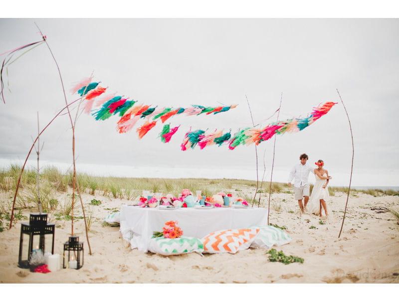 shooting d 39 inspiration un mariage 100 surf d coration un mariage sur la plage journal. Black Bedroom Furniture Sets. Home Design Ideas
