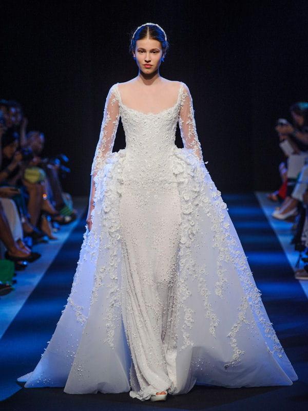 D fil georges hobeika haute couture automne hiver 2013 for Prix de robe de mariage en or georges chakra