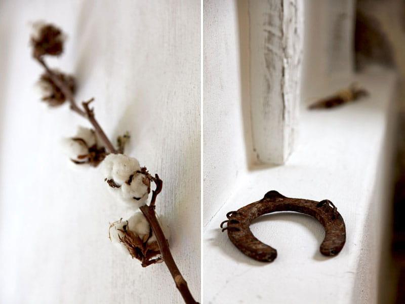 fleurs de coton et fer cheval esprit brocante dans une ferme basque journal des femmes. Black Bedroom Furniture Sets. Home Design Ideas