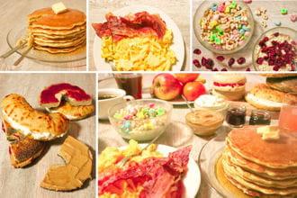 brunch amã©ricain bagels pancakes cookin'theworld 2