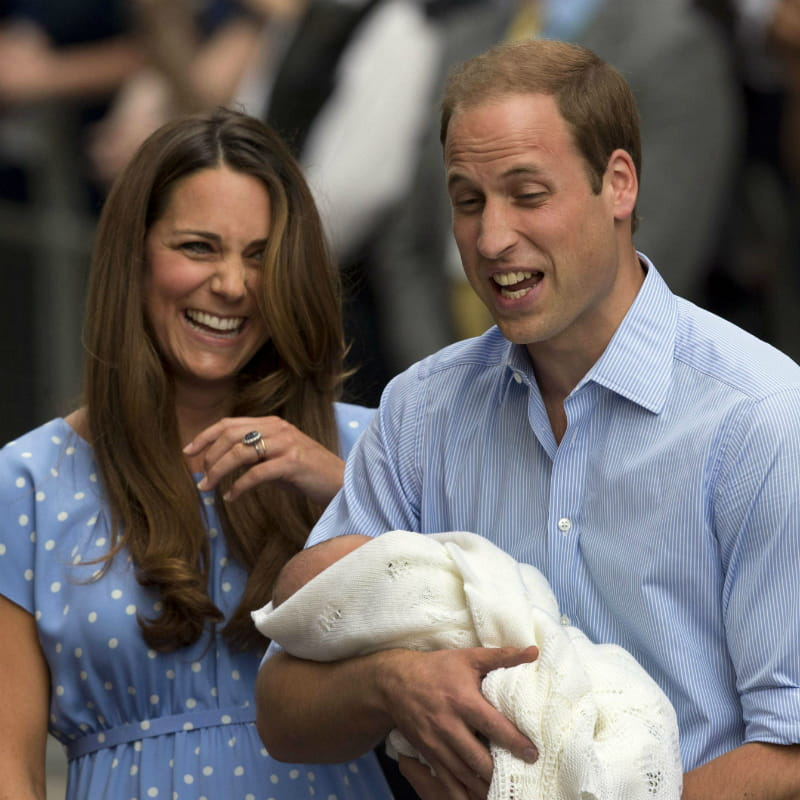 Les Nouveaux Parents : Kate, William Et Le Bébé : Toutes