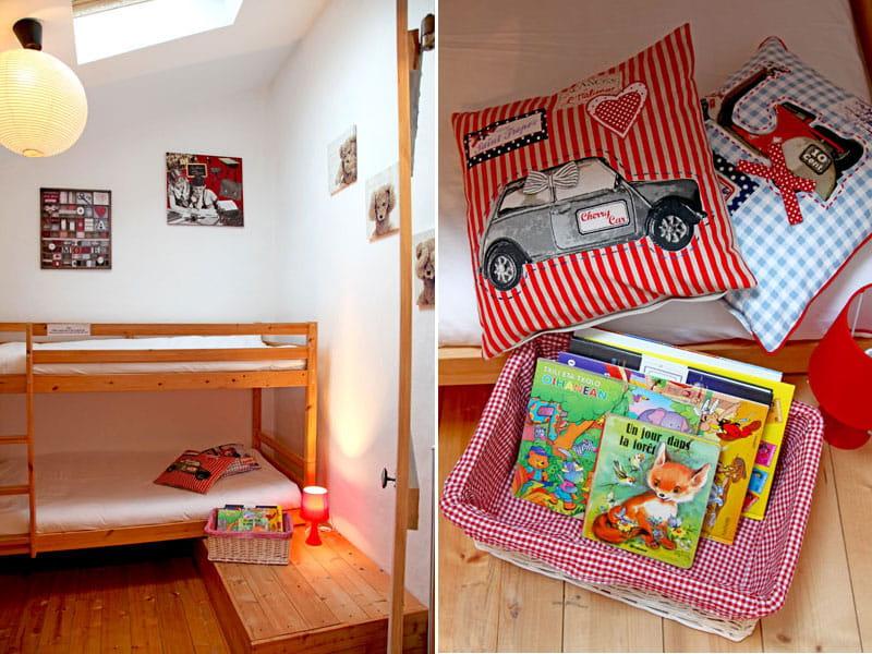 Chambre d 39 enfant gaie et color e une petite maison fa on for Chambre d enfant original