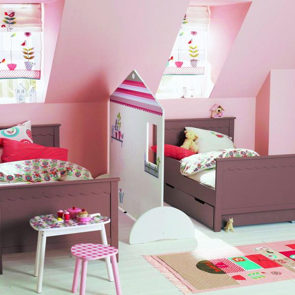 Cloison maisonnette de vertbaudet chambre d 39 enfant une for Chambre enfant verbaudet