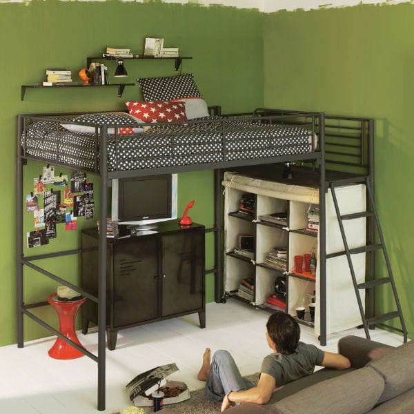 ou acheter un lit mezzanine pas cher. Black Bedroom Furniture Sets. Home Design Ideas