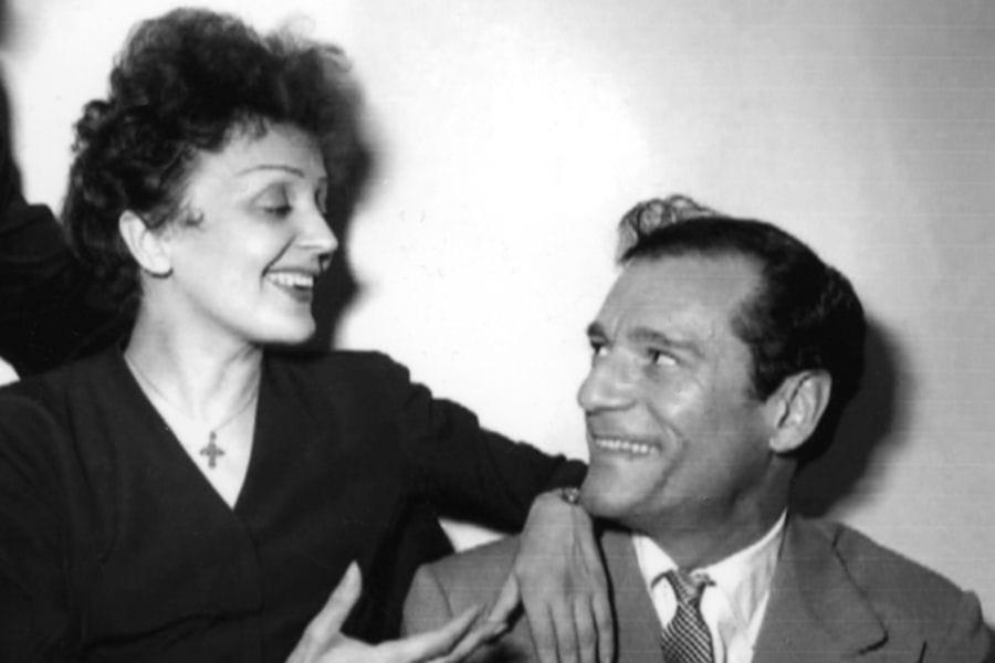 Edith Piaf Parents Edith Piaf Avec Eddie