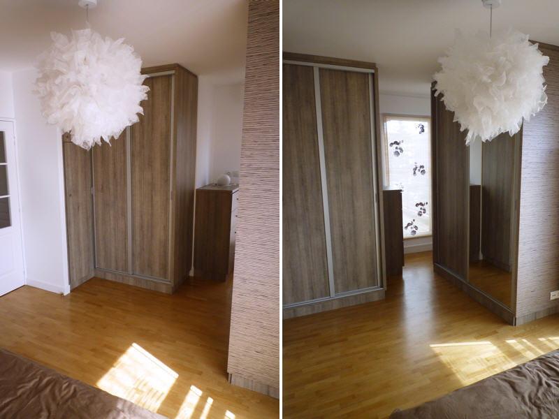 espace dressing aménagé : La rénovation dune chambre avec dressing ...