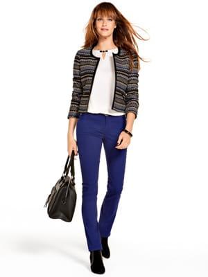 jean bleu blouse blanche et veste ethnique de cama eu shopping mode jolies tenues d 39 automne. Black Bedroom Furniture Sets. Home Design Ideas