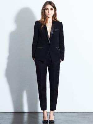 tailleur pantalon de claudie pierlot shopping mode jolies tenues d 39 automne journal des femmes. Black Bedroom Furniture Sets. Home Design Ideas