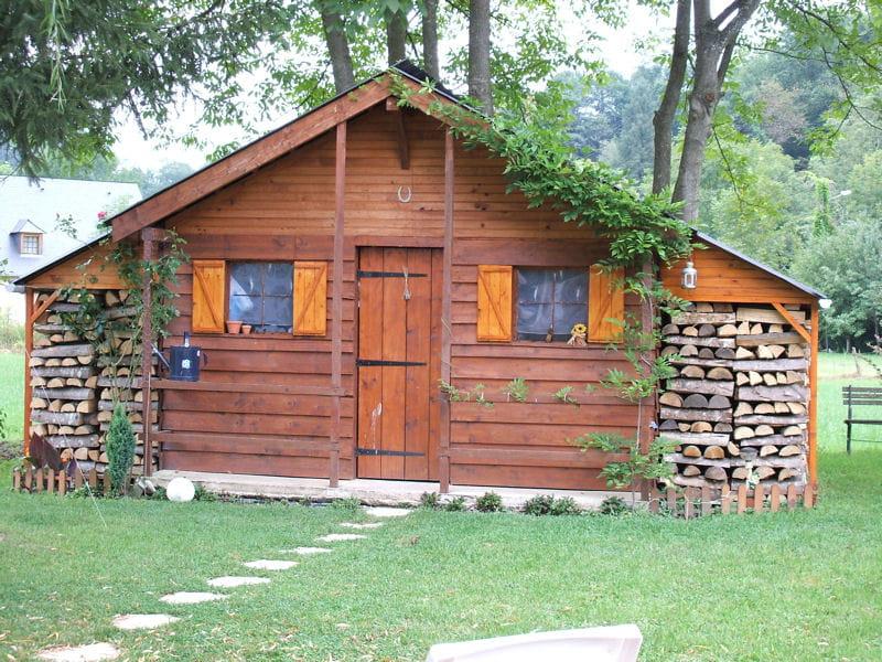 Cabane et abri bois ces cabanes au fond du jardin for Cabanon en bois de jardin