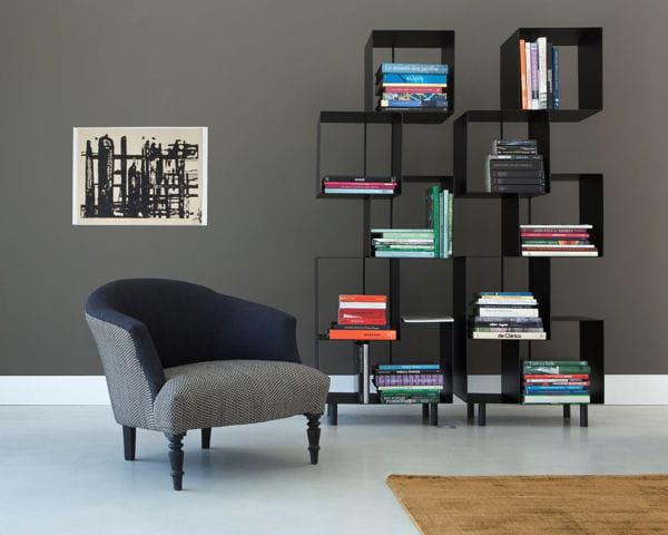 fauteuil ambroise et tag re sappari d 39 am pm salon. Black Bedroom Furniture Sets. Home Design Ideas