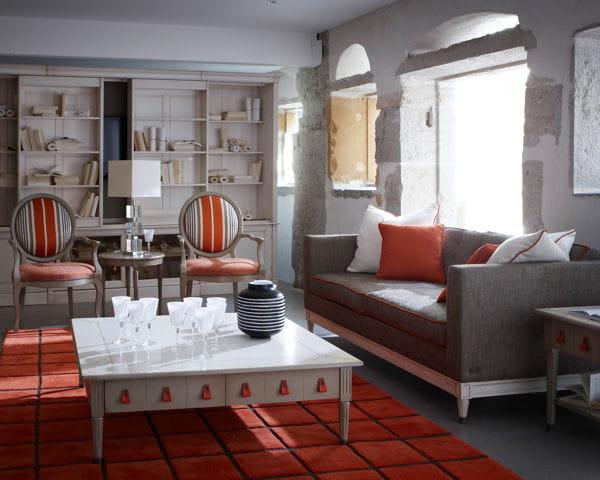 canap trianon de grange salon les nouveaut s d co pour le relooker journal des femmes. Black Bedroom Furniture Sets. Home Design Ideas