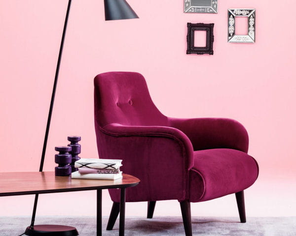 fauteuil lipstick de la redoute salon les nouveaut s. Black Bedroom Furniture Sets. Home Design Ideas