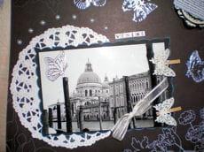 album réalisé sur une visite à venise, en italie