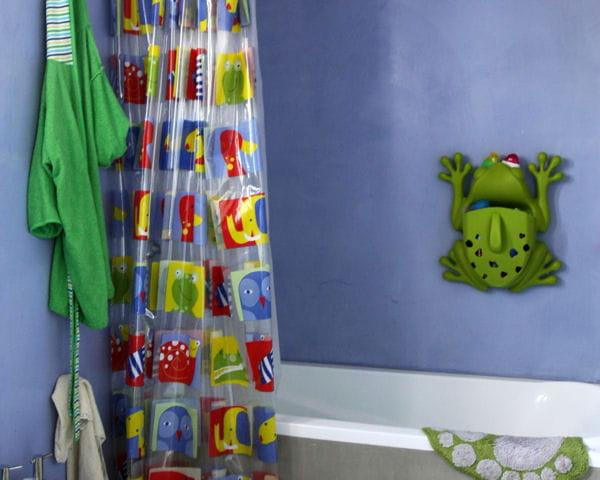 rideau de douche en plastique ou tissu des id es originales pour sa paroi de douche journal. Black Bedroom Furniture Sets. Home Design Ideas