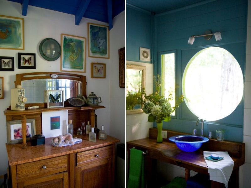 Mobilier de salle de bains vintage salle de bains et - Meuble de salle de bain retro ...