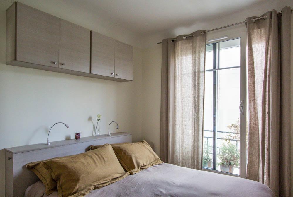 une petite chambre optimis e un appartement acidul pour une famille nombreuse journal des. Black Bedroom Furniture Sets. Home Design Ideas