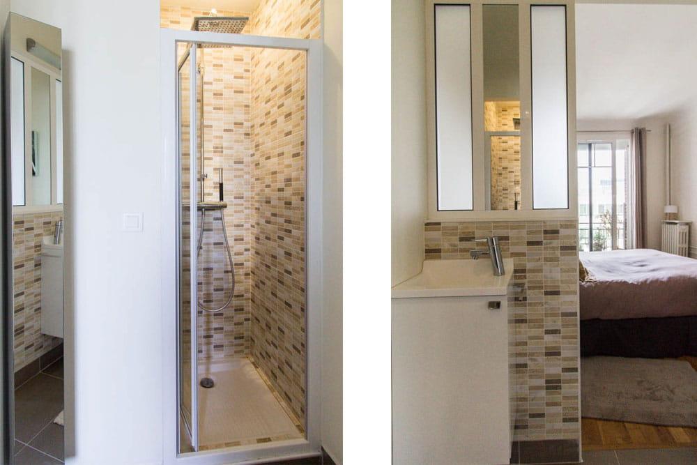 Petite salle d eau pictures to pin on pinterest - Salle d eau 4m2 ...