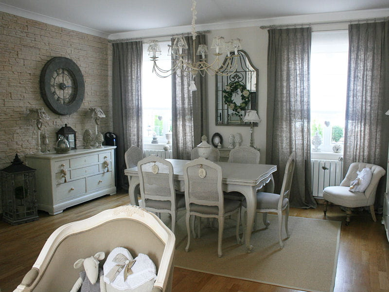 Shabby and charme novembre 2014 for La salle manger salon de provence