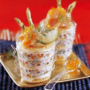 verrine tout saumon 75 recettes au saumon fum 233 pour no 235 l journal des femmes