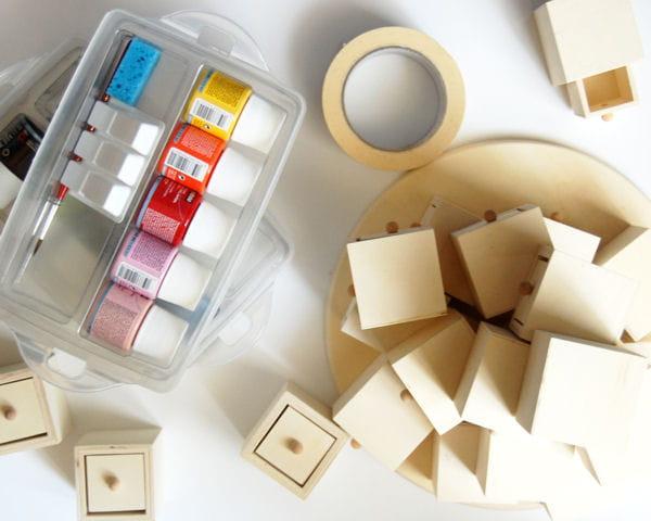 diy fabriquer un calendrier de l 39 avent fabriquer un. Black Bedroom Furniture Sets. Home Design Ideas